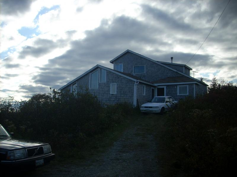 Jonesport, Maine, Solar Home, Oct. '09